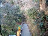 白糸の滝階段