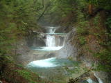 西沢渓谷五段の滝