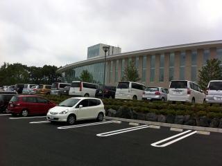富士山樹空の森駐車場