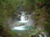 七つ釜五段の滝
