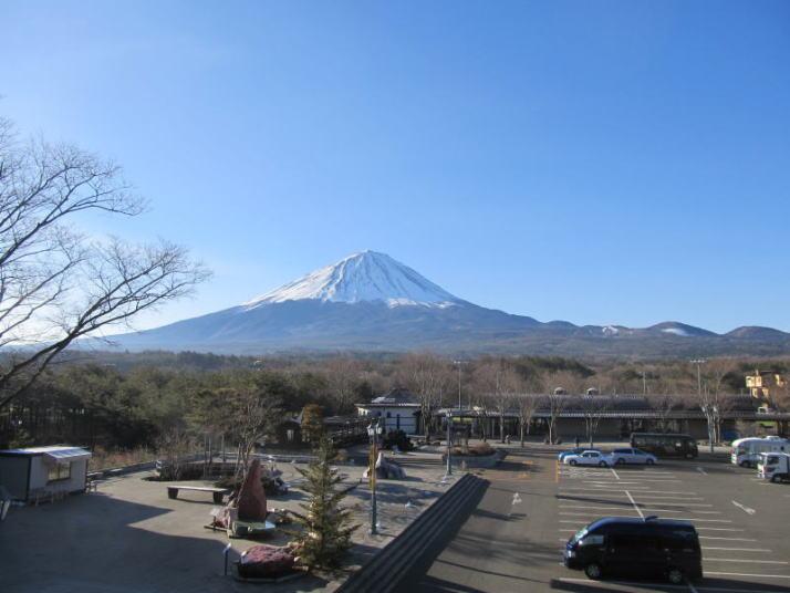 富士山鳴沢村