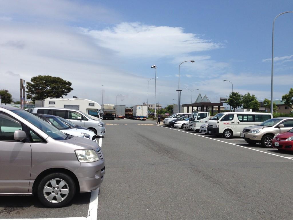 道の駅富士駐車場